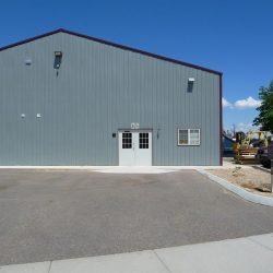 big green warehouse